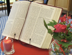 bible-and-candle-and-flower-at-bh