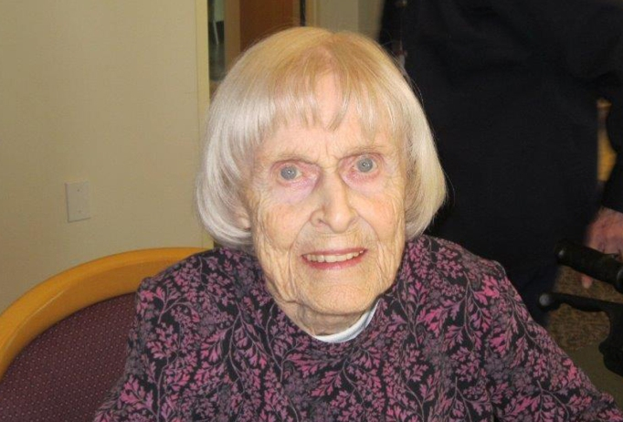 mary jean on 98th birthday cropped